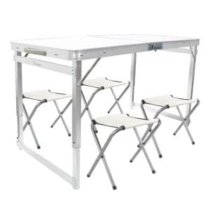 FrenzyBird 4-Person Folding Picnic Table