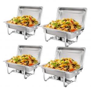 Super Deal 8 Qt Stainless Steel Chafer Dish