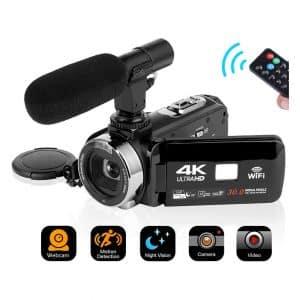 SEREE Digital 4K Camcorder
