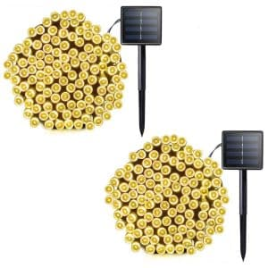 Lalapao 2-Pack Solar String Lights