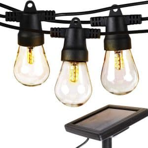 Brightech Ambience Pro – Waterproof Solar String Lights