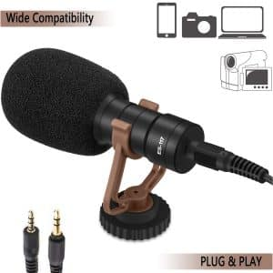 CAESGE Professional Grade Video Camera Microphone