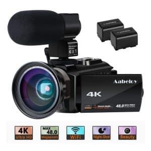 Aabeloy 4K Camcorder