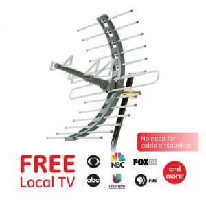 GE Pro Attic Mount TV Outdoor Antenna