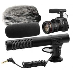 PLOTURE Video Microphone for Camera