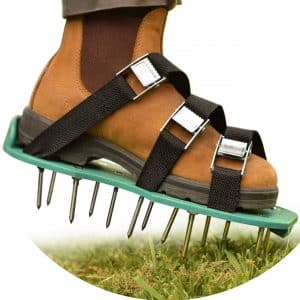 NiG Tools Lawn Treatment Aerator Shoes