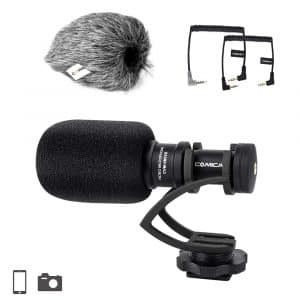 Comica Full Metal Compact Directional Camera Microphone