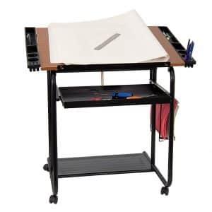 Flash Furniture Adjustable Drawing Table
