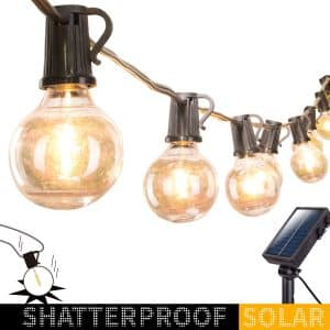 Solar Outdoor String Lights-20F