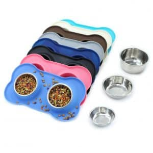 Vivaglory Stainless Steel Dog Bowls