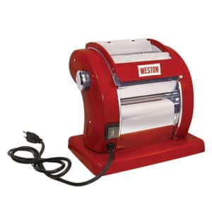 Weston 01-0601-W Red Electric Pasta Machine