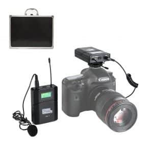 Dazzne Pixel 6 Channels UHF Wireless Camera Microphone