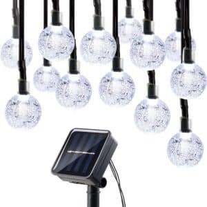 Solar String Light Crystal Globe Ball
