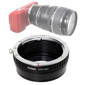 Fotasy Canon-EF Lens to mirror-less Sony E-Mount Adapter