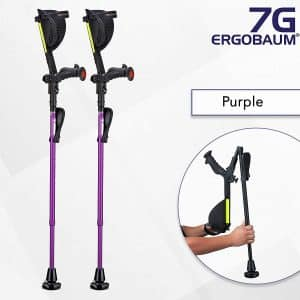 Ergoactives LLC Ergobaum® Prime Ergonomic Forearm 6th Generation Crutches