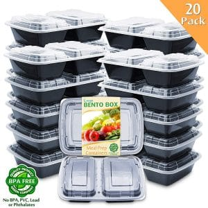 Enther Meal Prep Containers 20 Pack