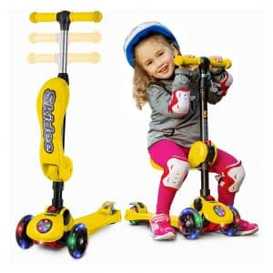 2-in-1 Scooter for Kids with Folding Removable Seat