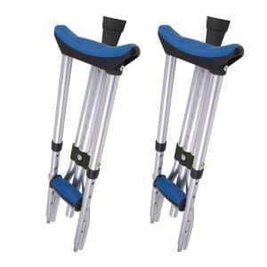 Carex Folding Crutches