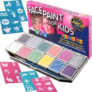 Unknown Halloween Face Paint for Kids