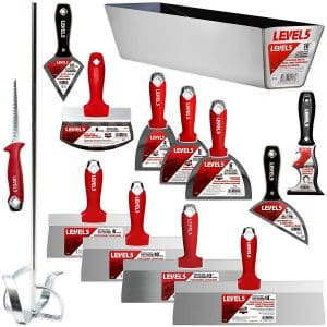 Level5 Deluxe Drywall Hand Tool Set