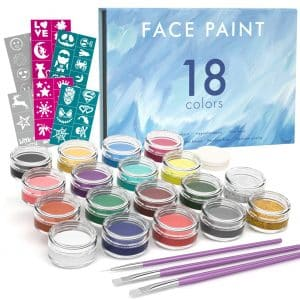 Nicpro Professional Face Painting Kit