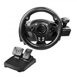 PinPle Dual-motor 270-Degree PS4 Steering Wheel