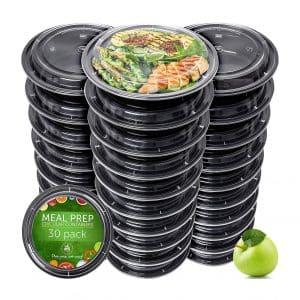 Prep Naturals Meal Prep Containers 30 Pack