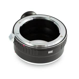 Lens Mount Adapter by Gobe