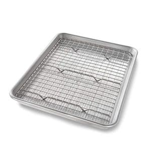 USA Pan Sheet Baking Pan and Nonstick Rack