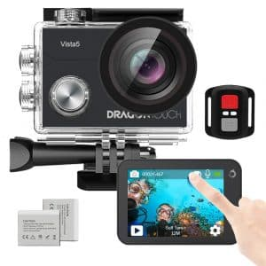 Dragon Touch Native 4K30fps Action Camera