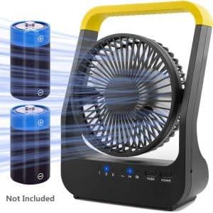 Gazeled Portable Battery Powered Fan