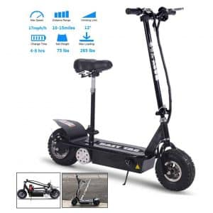 TOXOZERS Folding 800W 36V Off-Road Electric Scooter