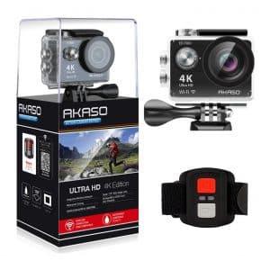 AKASO 4K WiFi Sports Action Camera