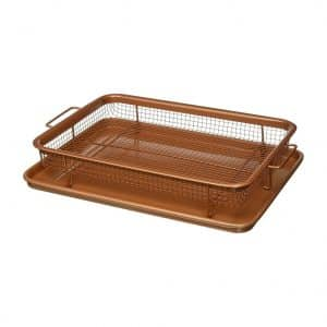 GOTHAM STEEL Non-stick Copper Crisper Tray