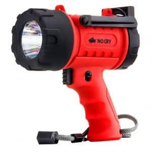 NoCry 18W Waterproof 1000 Lumen LED Rechargeable Spotlight