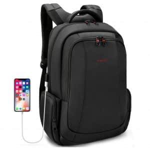 Uoobag Tigernu Series Laptop Backpack For Men/Women, Black