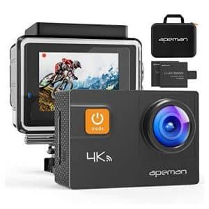 APEMAN Action Camera 4K 20MP Wi-Fi Camera