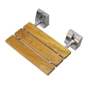 "DIYHD SD 15"" TEAK WOOD Shower Bench"