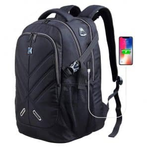 OUTJOY Laptop Backpack Ideal for Both Men and Women