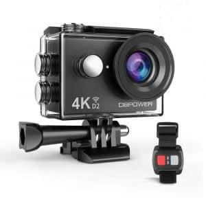 DBPOWER 4K Action Camera