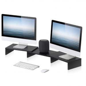 FITUEYES 3 Shelf Monitor Stand Riser