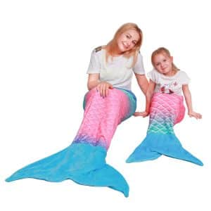 Softan Mermaid Tail Blanket