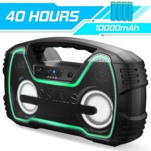 AOMAIS Portable Outdoor Wireless Speaker