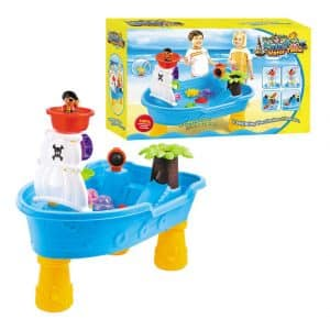 Lenoxx Pirate Ship Water Table for Kids