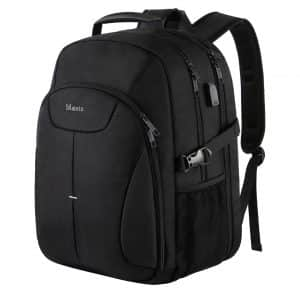 MATEIN Waterproof Laptop Backpack with USB Port for Both Boys and Girls