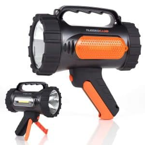 Rugged Camp High Powered 10W LED Rechargeable Spotlight