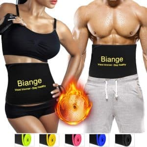 Biange Waist Trimmer for Weight Loss, Ideal for both Men and Women