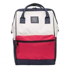 Kah&Kee Polyester Laptop Backpack Waterproof and Anti-theft