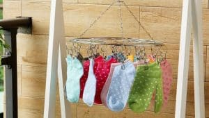 Hanging Drying Rack with Clips