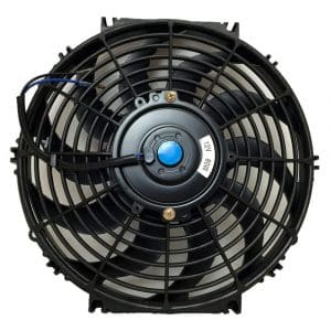 UPGR8 Universal 12 Inch High Performance Slim Cooling Fan, (Black)